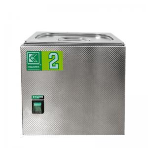 Laboratorní ultrazvuková vana K-2L nerezová, mechanické ovládaní
