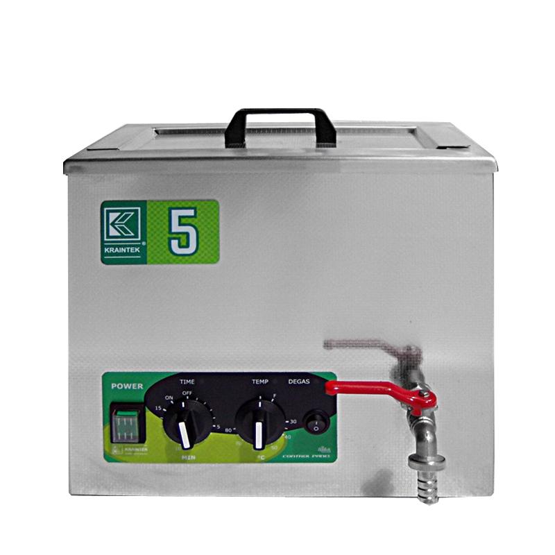 Průmyslová ultrazvuková čistička K-5IM nerezová, mechanické ovládaní