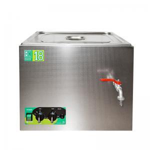 Laboratorní ultrazvuková vana K-18LM nerezová, mechanické ovládaní