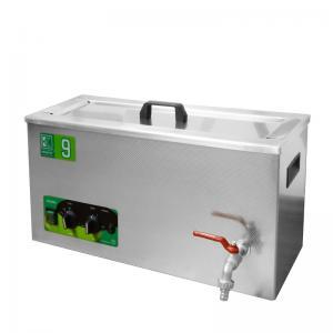 Průmyslová ultrazvuková vana K-9IM nerezová, mechanické ovládaní