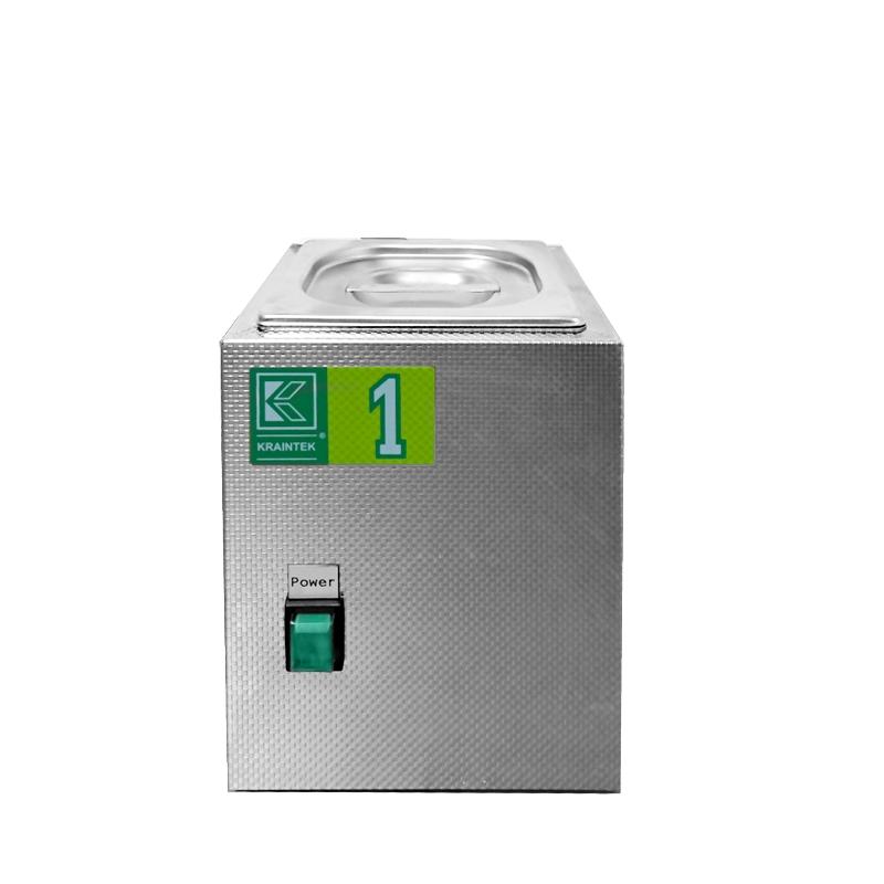 Laboratorní ultrazvuková vana K-1L nerezová, mechanické ovládaní