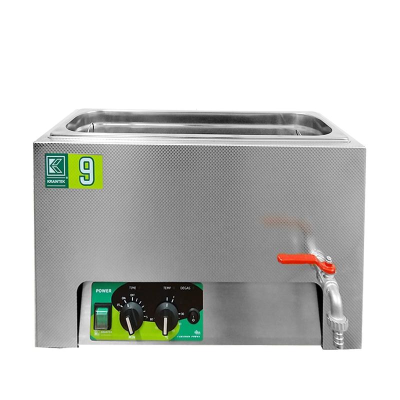 Laboratorní ultrazvuková vana K-9LM nerezová, mechanické ovládaní
