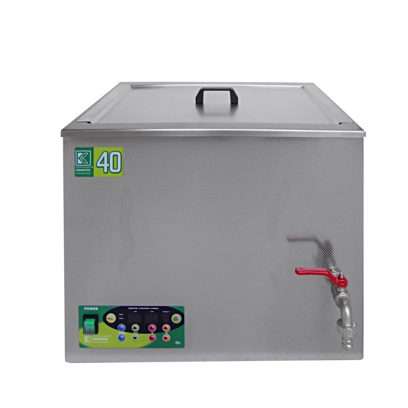 Průmyslová ultrazvuková lázeň K-40IE nerezová, elektronické ovládaní