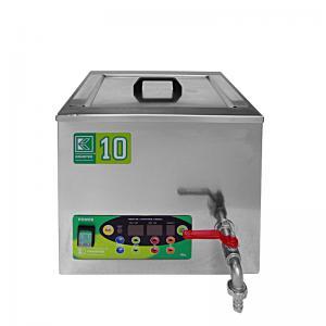 Průmyslová ultrazvuková vana K-10IE nerezová, elektronické ovládaní