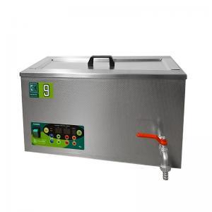 Průmyslová ultrazvuková vana K-9IE nerezová, elektronické ovládaní