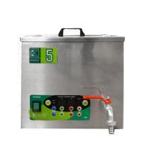 Průmyslová ultrazvuková čistička K-5IE nerezová, elektronické ovládaní