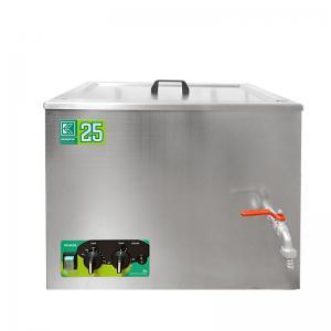 Čistící ultrazvuková vana K-25LM nerezová, mechanické ovládaní