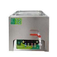 Laboratorní ultrazvuková vana K-12LE nerezová, elektronické ovládaní