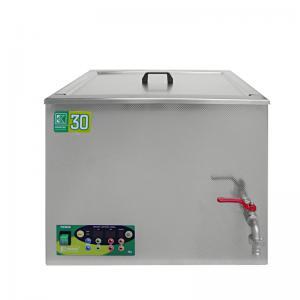 Průmyslová ultrazvuková lázeň K-30IE nerezová, elektronické ovládaní