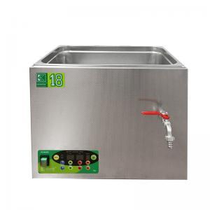 Laboratorní ultrazvuková vana K-18LE nerezová, elektronické ovládaní