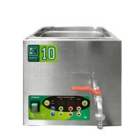 Laboratorní ultrazvuková vana K-10LE nerezová, elektronické ovládaní