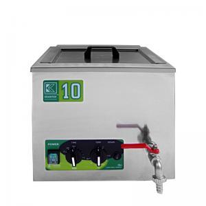 Průmyslová ultrazvuková čistička K-10IM nerezová, mechanické ovládaní