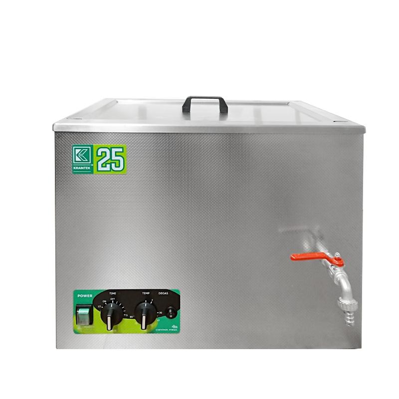 Průmyslová ultrazvuková čistička K-25IM nerezová, mechanické ovládaní