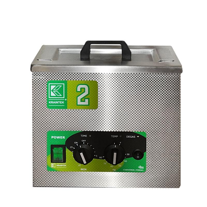 Laboratorní ultrazvuková vana K-2LM nerezová, mechanické ovládaní