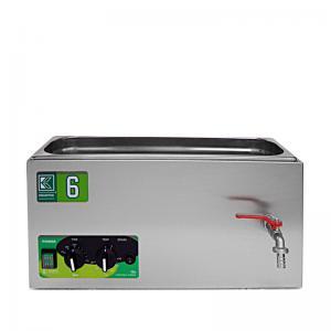 Laboratorní ultrazvuková vana K-6LM nerezová, mechanické ovládaní
