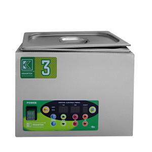 Laboratorní ultrazvuková vana K-3LE nerezová, elektronické ovládaní