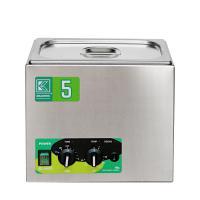 Laboratorní ultrazvuková lázeň K-5LM nerezová, mechanické ovládaní